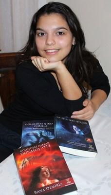 16 yaşındaki dahiden üçüncü roman