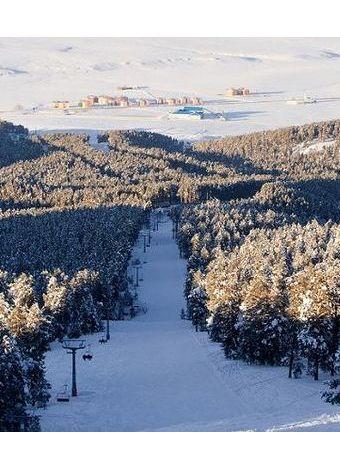 Türkiye'deki en iyi kayak merkezleri