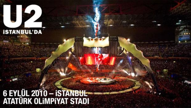 U2 Istanbul'a Geliyor!